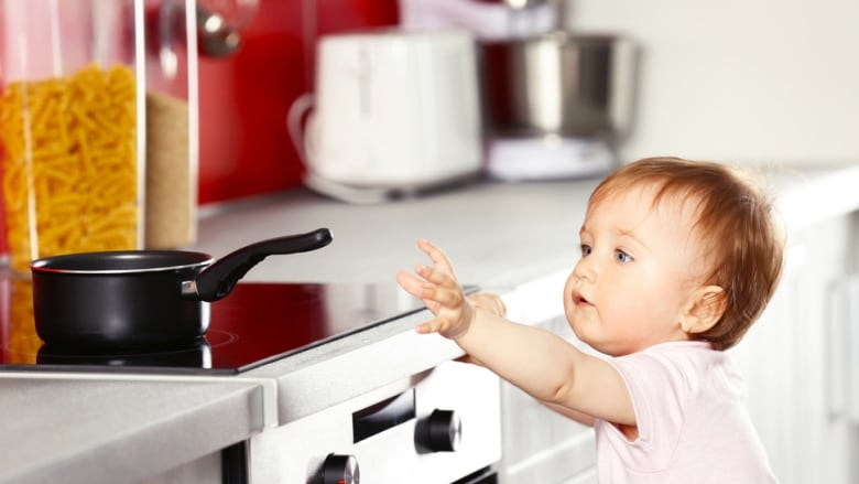 Son, Don't Touch theStove!!!