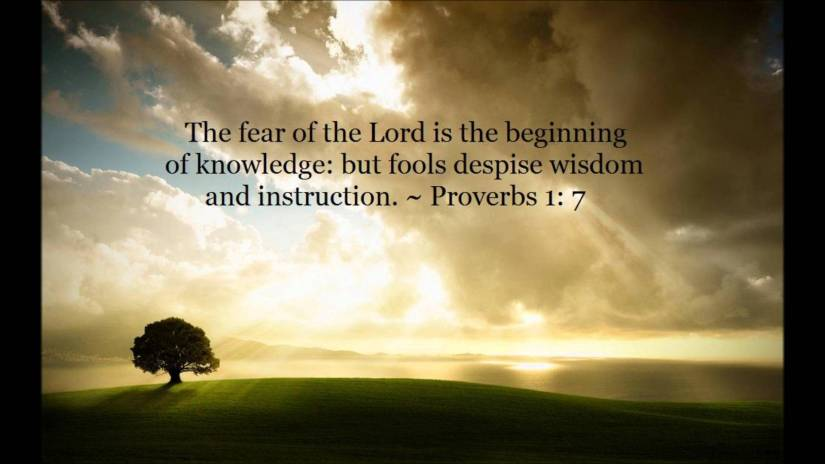 The Fear of theLord